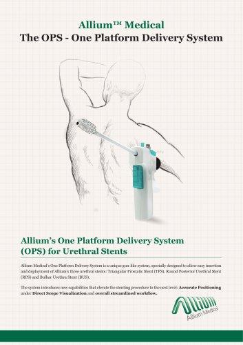 Allium™ Medical TheTPS –Triangular Prostatic Stent - Allium Medical Solutions - PDF Catalogs | Technical Documentation