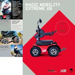 X8 Wheelchair Red Leather Counter Height Chairs Magic Mobility Extreme Pdf Catalogs 1 2 Pages