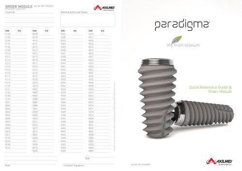 Alle Kataloge und technischen Broschüren von Axelmed