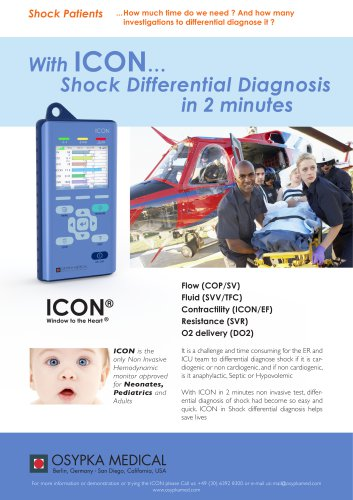 Alle Kataloge und technischen Broschüren von Osypka Medical