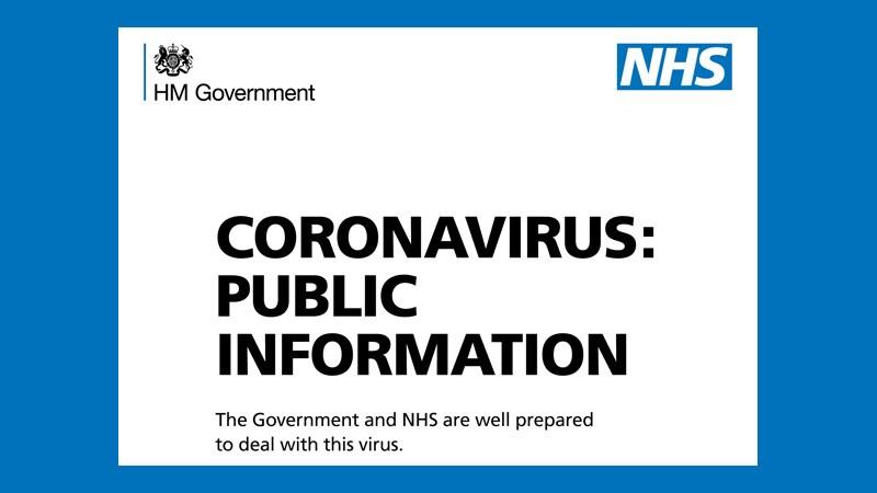 New Coronavirus: UK Public Health Campaign Launched