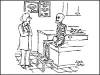 October Cartoon Caption Winners: No Skin, All Bones