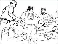 Vertical Hospital Evacuations
