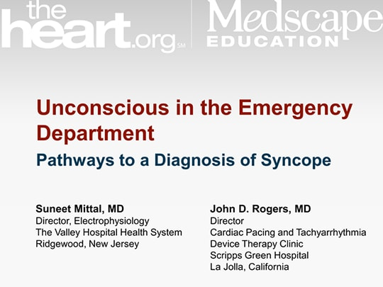 Unconscious in the Emergency Department Pathways to a