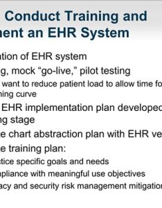 Slide also incorporating an ehr into the practice setting first year rh medscape