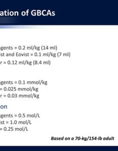 Slide also assessing gadolinium based contrast agents in mri the wake of rh medscape