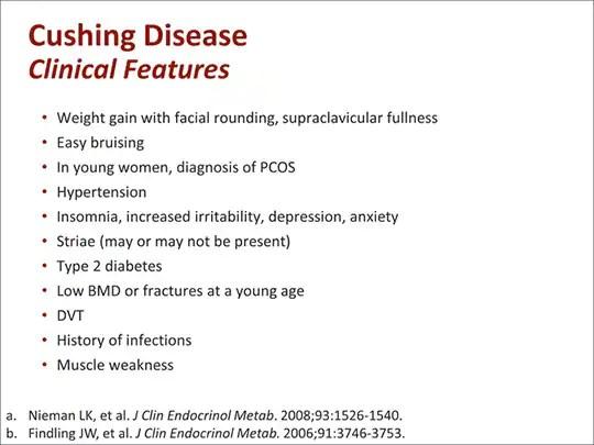 Cushing Disease Diagnosis