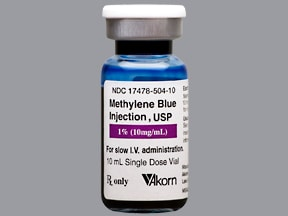 Methylene Blue (Antidote) Intravenous : Uses Side Effects ...