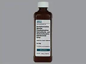 Brompheniramine-Pseudoephedrine-DM Oral : Uses Side ...
