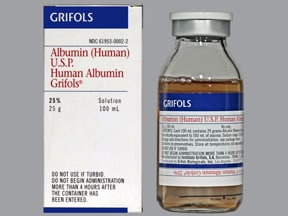 Albumin Human 25 % Intravenous : Uses Side Effects ...