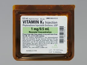 Vitamin K Injection : Uses Side Effects Interactions ...