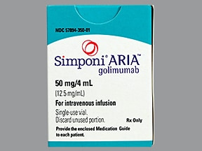 Simponi ARIA Intravenous : Uses Side Effects ...