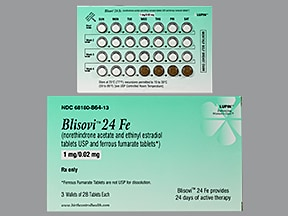 Blisovi 24 Fe Oral : Uses Side Effects Interactions ...
