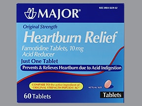 Heartburn Relief (Famotidine) Oral : Uses Side Effects ...