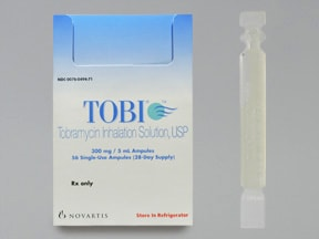 Tobi Inhalation : Uses Side Effects Interactions ...