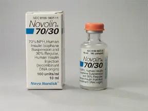 Novolin 70/30 U-100 Insulin Subcutaneous : Uses Side ...