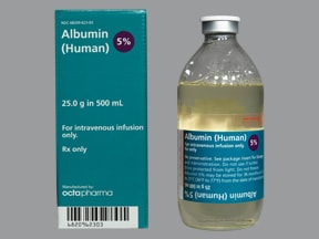 Albumin Human 5 % Intravenous : Uses Side Effects ...