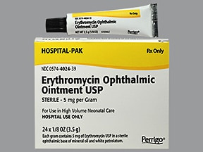 Erythromycin Ophthalmic (Eye) : Uses Side Effects ...