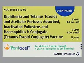 Pentacel (PF) Intramuscular : Uses Side Effects ...