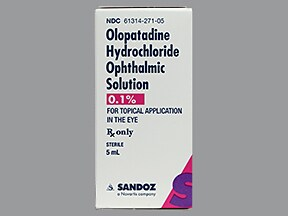 Olopatadine Ophthalmic (Eye) : Uses Side Effects ...