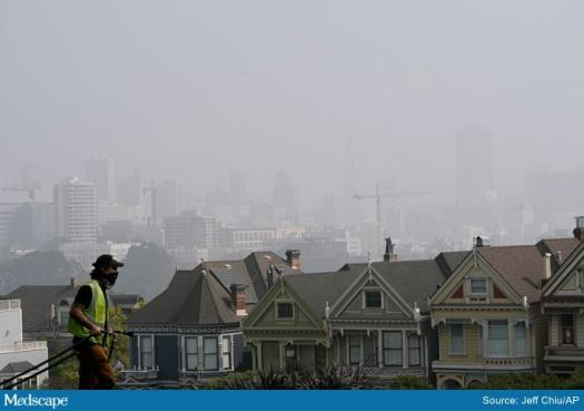 Seeping Under Doors, Bad Air From West's Fires Won't Ease Up 2
