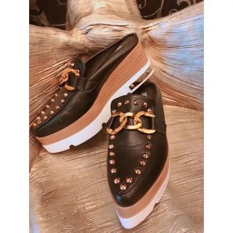 XZ00410 卯丁包頭厚底鞋