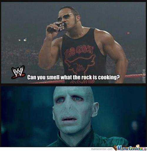 Image result for can you smell what the rock is cooking gif