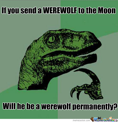 Image result for werewolf meme