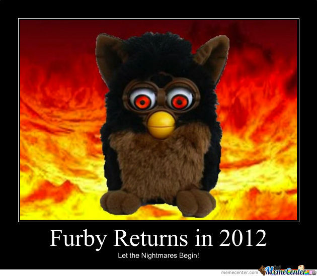 Furby Christmas 2012 By Duds77 Meme Center