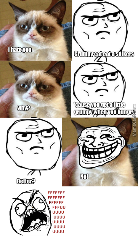 Cat Grumpy Meme Snickers