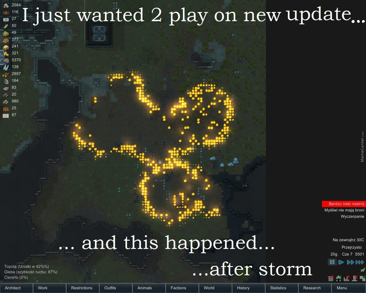 Just Rimworld Things By Recyclebin Meme Center