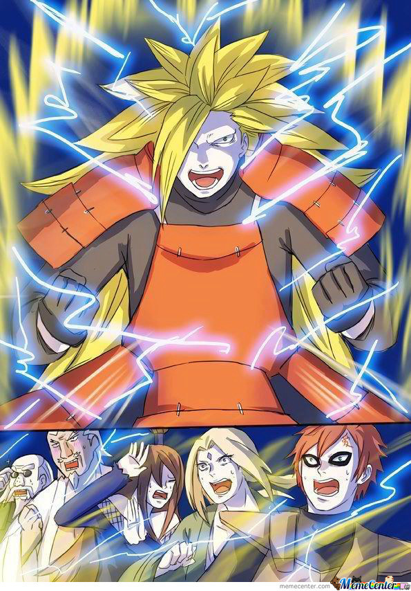 Lion Live Wallpaper Iphone X Naruto Dbz Crossover By Kapper24 Meme Center