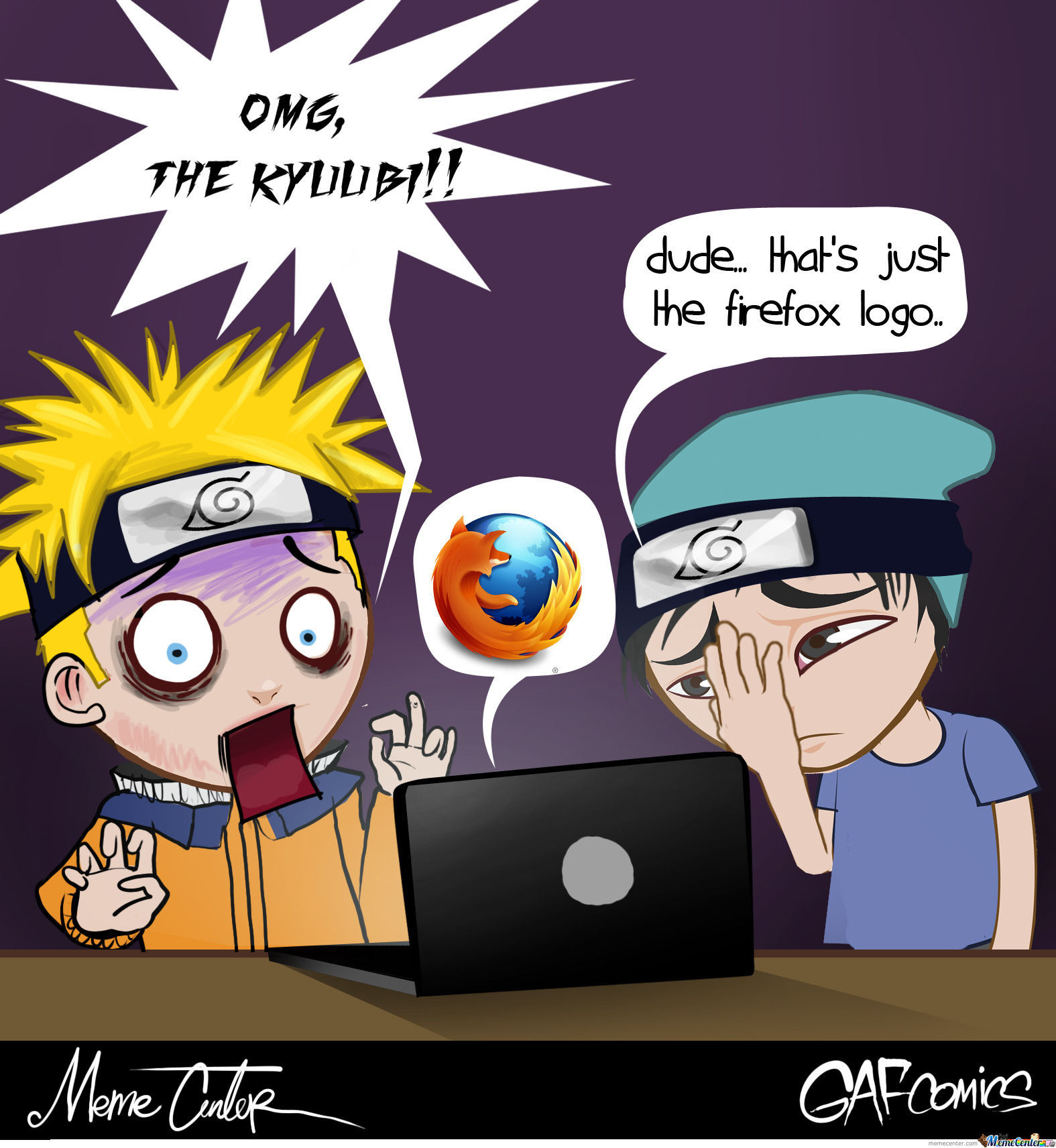 Silly Naruto By Gafcomics Meme Center