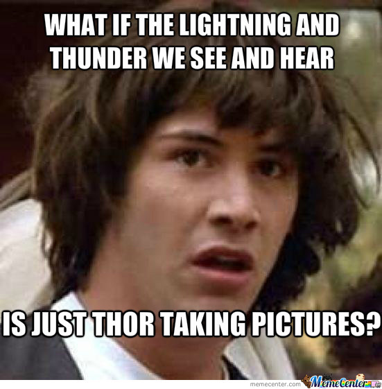 Thunder For Sound Lightning For Flash By Cutepoison