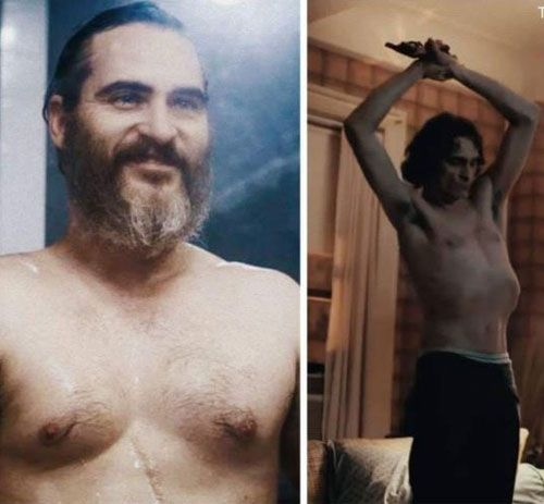 Image result for joaquin phoenix weight loss joker