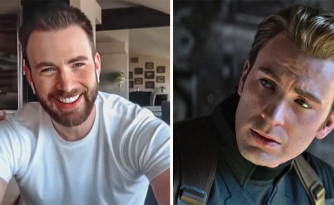 Avengers Star Chris Evans Accidentally Posted D Ck Pic