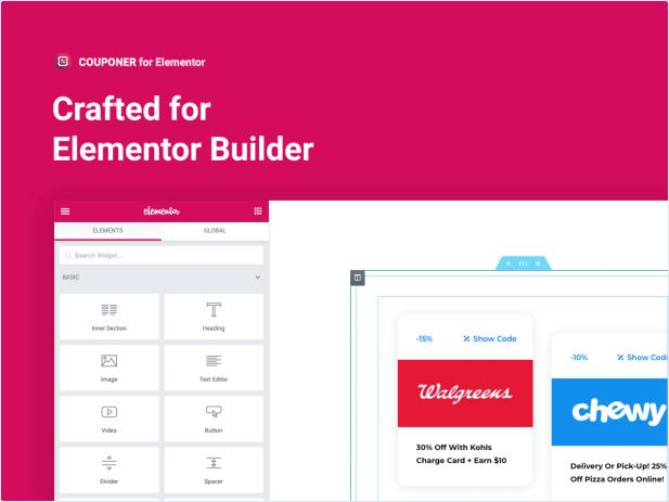 Crafted for Elementor Builder