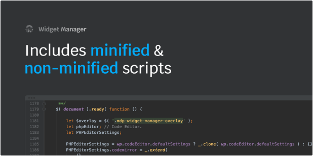 Includes minified & non-minified scripts