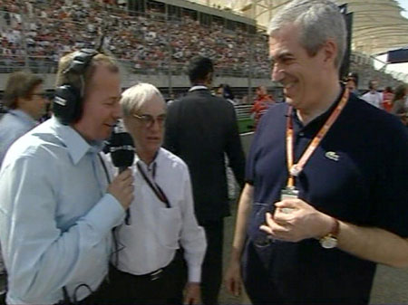 Revised: Martin Brundle on the grid