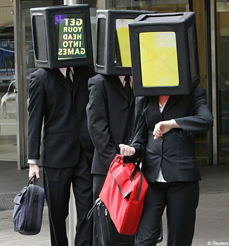 Invasion of the box-head people