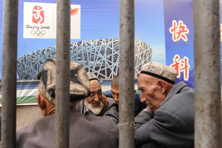 The Muslim Uighurs claim China has used the war on terror to label all Uighur nationalists as terrorists and supress their culture and religion