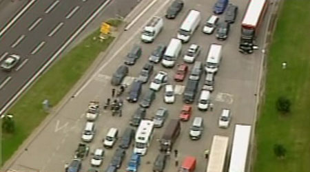 channel tunnel chaos