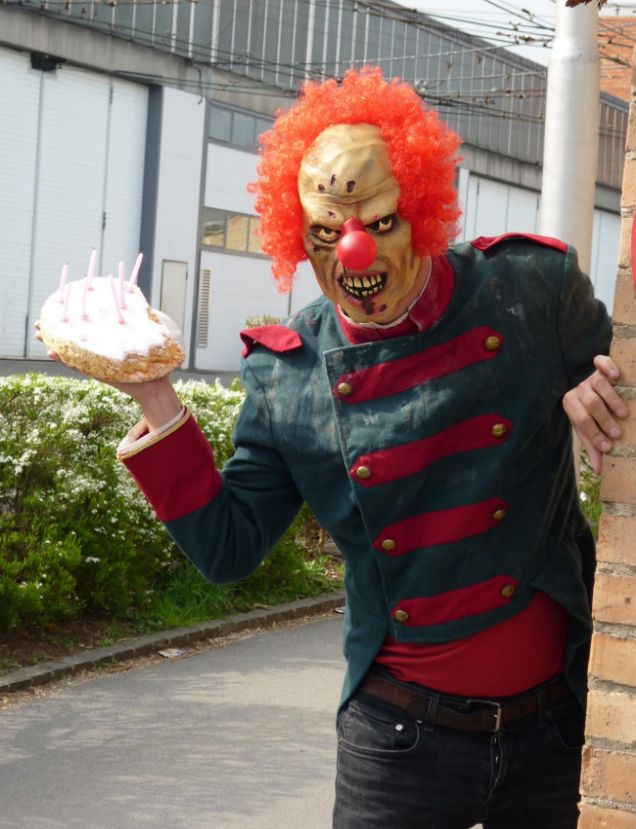 Dominic Deville's Evil Clown strikes when boys or girls least expect it