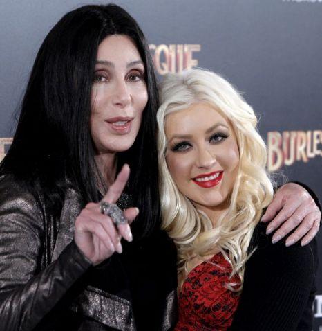 Cher and Christina Aguilera