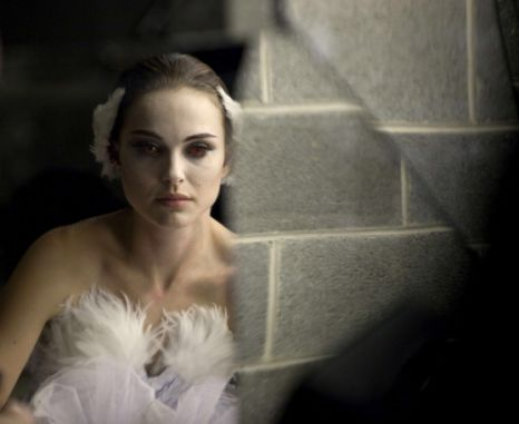Natalie Portman in Black Swan, the film both men had watched before the