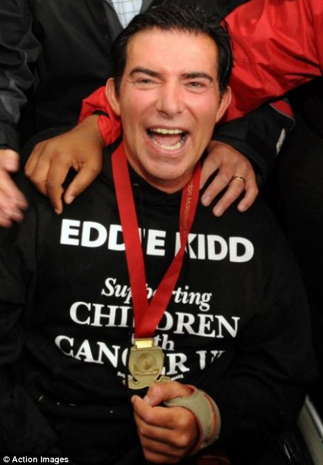 Eddie Kidd marathon