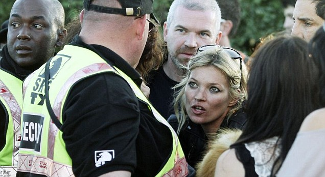 Kate Moss 'banned from Pulp Glastonbury show'
