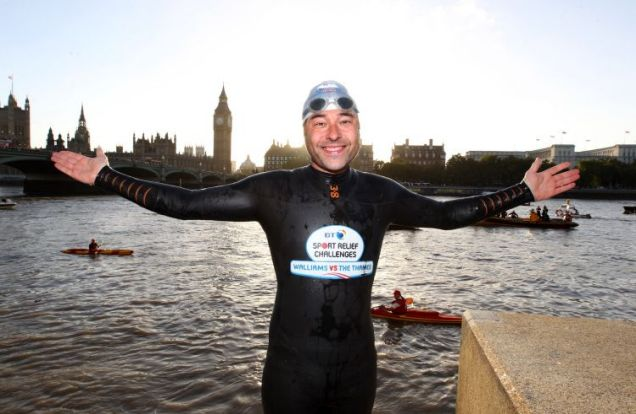 David Walliams, Sport Relief swim
