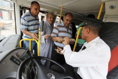 bus driver, Baghdad, Iraq