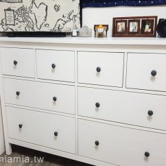 Ikea Kitchen Remodel Cost Little Kids Ikea收納櫃 密集板受潮膨脹 低成本大改造 換季衣物收納分享 妙妙屋的 我們家這組hemnes 系列抽屜櫃購於2015年8月